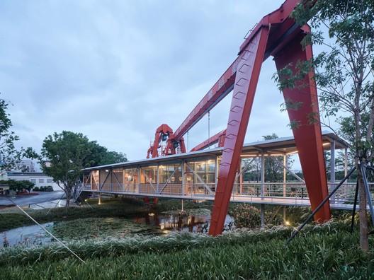 Suspended Pavilion / TJAD Original Design Studio – ArchDaily