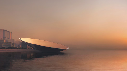 """Snøhetta Proposes """"Manifestation of Technology"""" for Qianhai Design Competition – ArchDaily"""