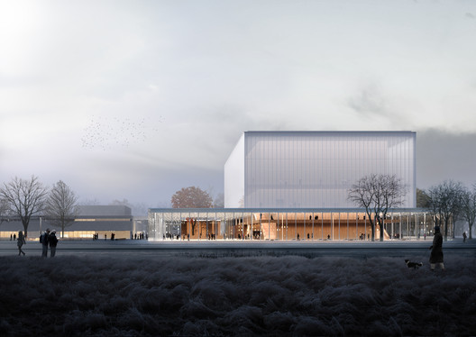 New Images for Nuremberg Concert Hall Released – ArchDaily