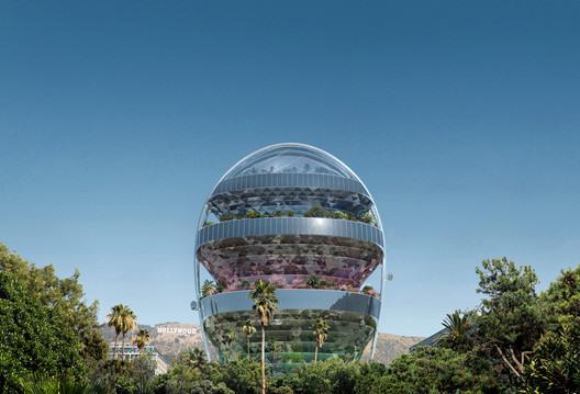 """MAD Architects Unveils Hollywood-Inspired """"Office of the Future"""" – ArchDaily"""