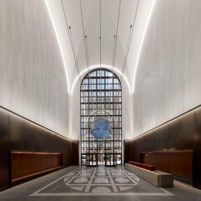 Gensler unveils redesigned lobby in Philip Johnson's AT&T building – Interiors – Dezeen