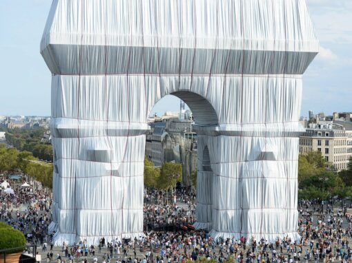 Christo and Jeanne-Claude's wrapped Arc de Triomphe opens to the public – Architecture – Dezeen