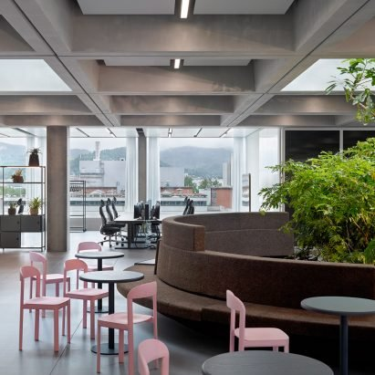 "Christ & Gantenbein designs Roche office to give staff ""a reason to come to work"" – Architecture – Dezeen"