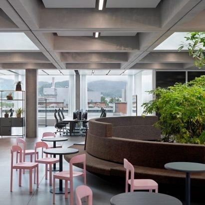 "Christ & Gantenbein designs Roche office to give staff ""a reason to come to work"" – Interiors – Dezeen"