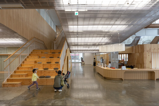 Kitakami Children Health & Support Center / UtA / Unemori teco Associates – ArchDaily